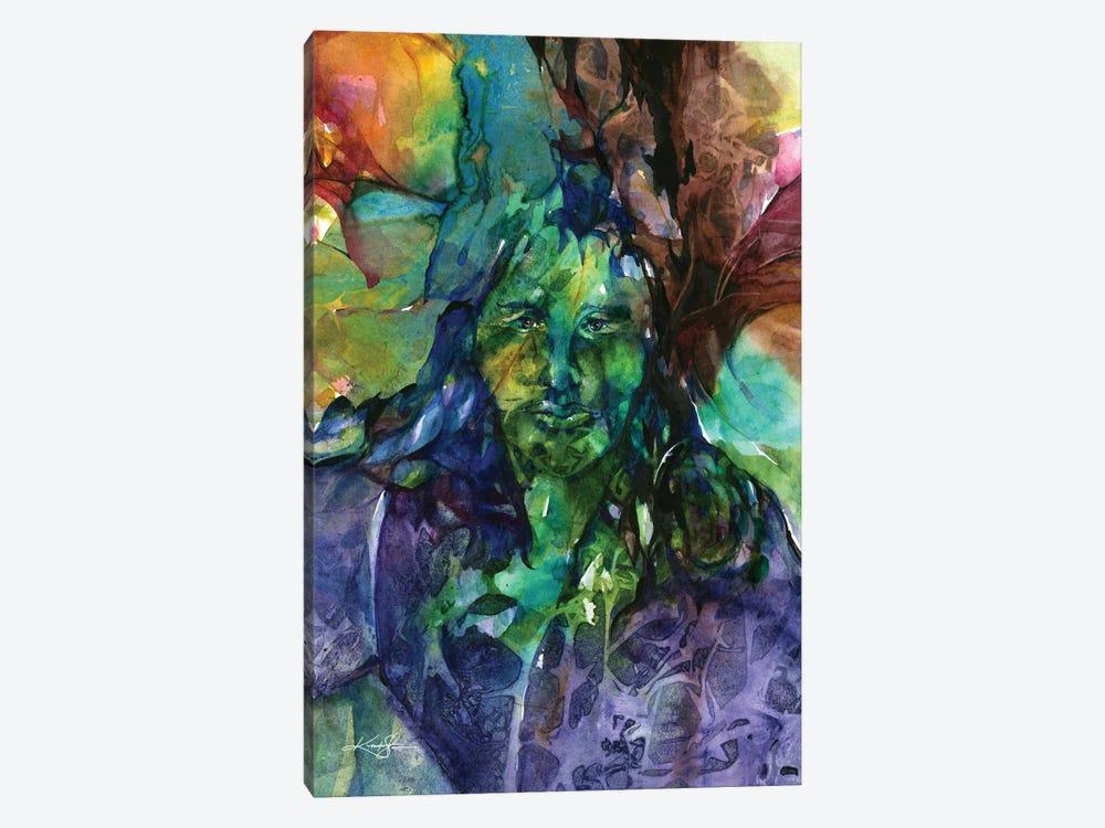 Green Man by Kathy Morton Stanion 1-piece Canvas Art Print