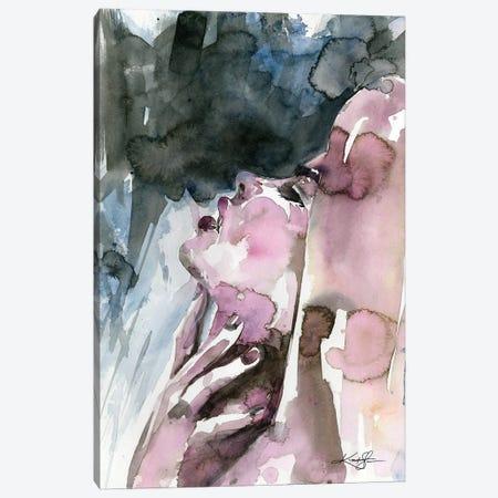 A Sensual Moment Canvas Print #KMS186} by Kathy Morton Stanion Canvas Wall Art