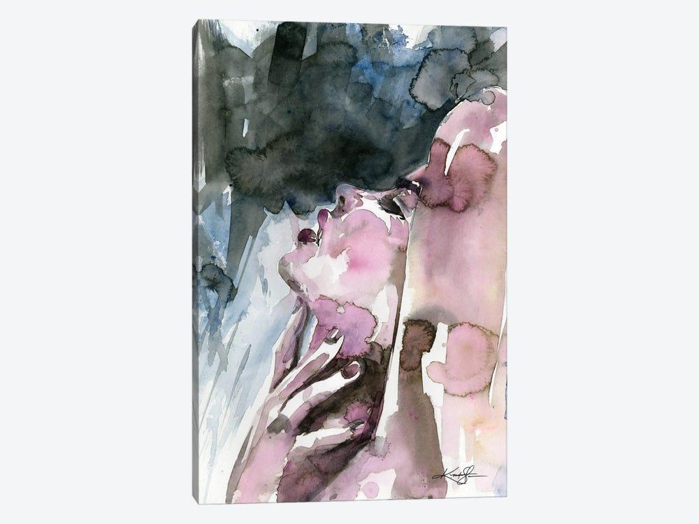 A Sensual Moment by Kathy Morton Stanion 1-piece Canvas Wall Art