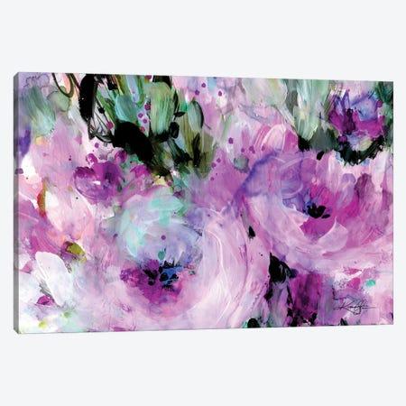 Enchanting Blooms II-II Canvas Print #KMS222} by Kathy Morton Stanion Canvas Art