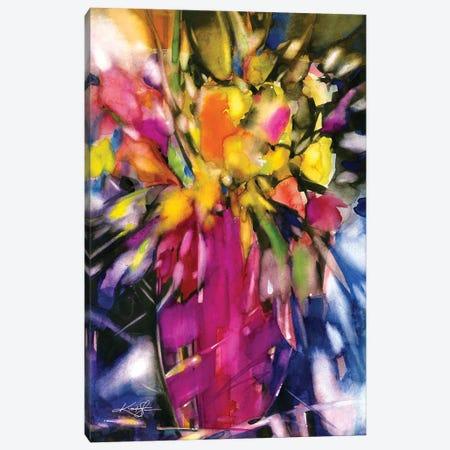 Soft Blooms Canvas Print #KMS225} by Kathy Morton Stanion Canvas Art Print