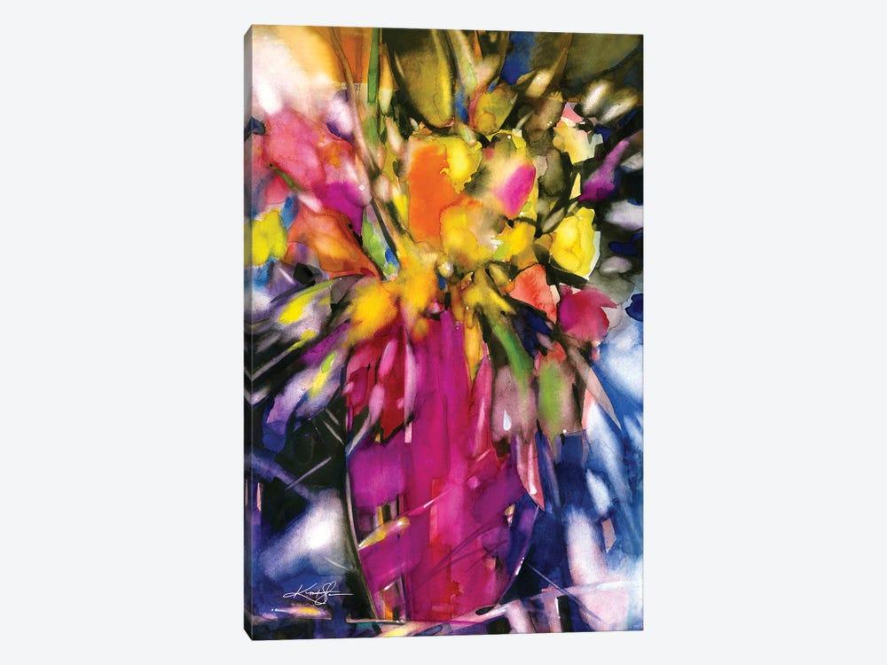 Soft Blooms by Kathy Morton Stanion 1-piece Canvas Art Print