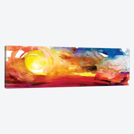 The Music Of The Sun III Canvas Print #KMS227} by Kathy Morton Stanion Art Print
