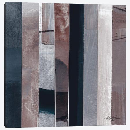 Collage Abstraction V Canvas Print #KMS229} by Kathy Morton Stanion Canvas Wall Art