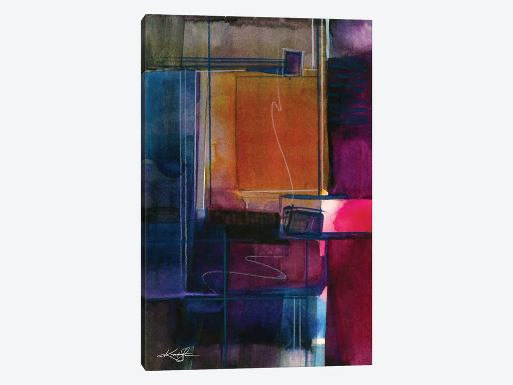 Mystic Wander VIII by Kathy Morton Stanion 1-piece Canvas Artwork