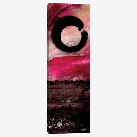 Enso Abstract Canvas Print #KMS237} by Kathy Morton Stanion Canvas Wall Art