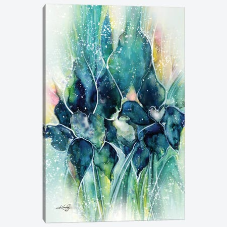 Royal Enchantment Canvas Print #KMS23} by Kathy Morton Stanion Canvas Art