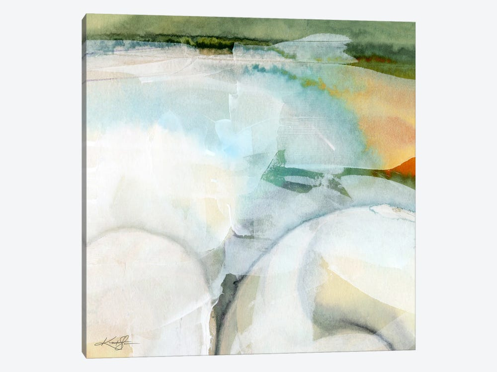 Sea Song VII by Kathy Morton Stanion 1-piece Canvas Art Print