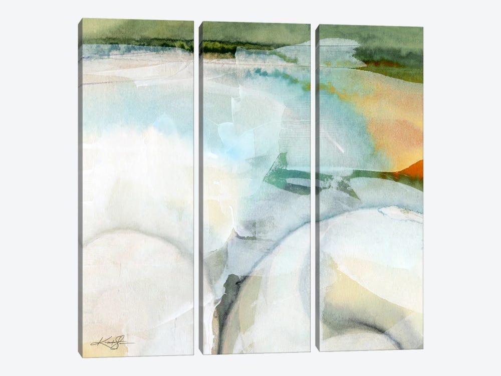 Sea Song VII by Kathy Morton Stanion 3-piece Canvas Print