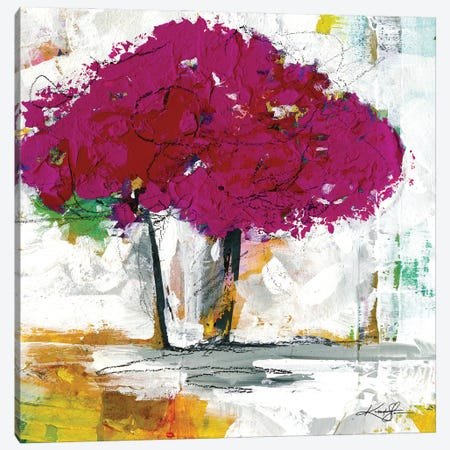 A Bouquet Of Flowers XIX-II Canvas Print #KMS243} by Kathy Morton Stanion Canvas Artwork