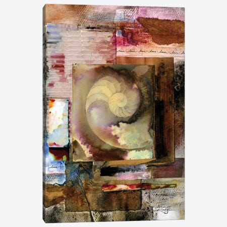 Elemental Tranquility I Canvas Print #KMS244} by Kathy Morton Stanion Canvas Print