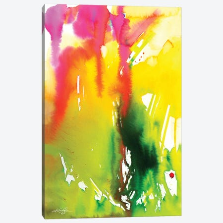 Color Song V Canvas Print #KMS247} by Kathy Morton Stanion Canvas Art Print