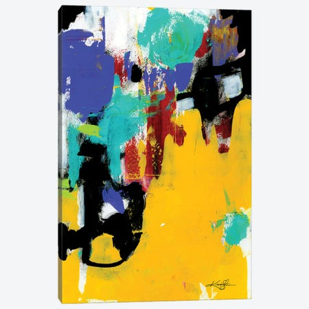 Color Song XXIV Canvas Print #KMS248} by Kathy Morton Stanion Canvas Artwork