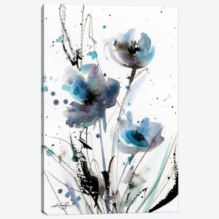 Petite Impressions III Canvas Print #KMS252} by Kathy Morton Stanion Art Print