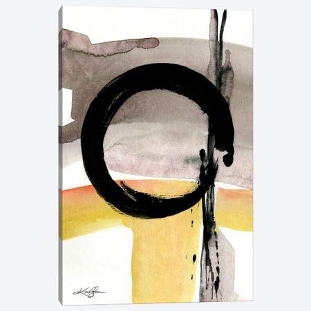 Enso Abstraction CIV Canvas Print #KMS253} by Kathy Morton Stanion Canvas Print