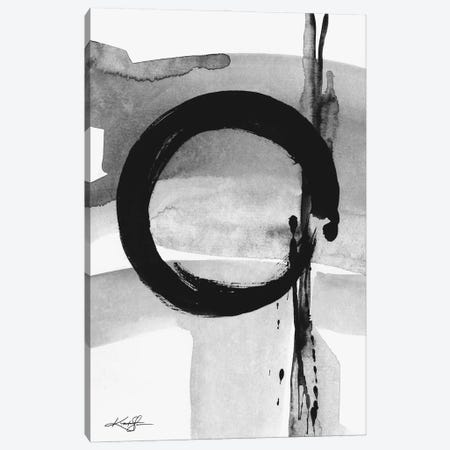 Enso Abstraction CIV-IV Canvas Print #KMS256} by Kathy Morton Stanion Canvas Art