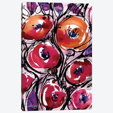 Poppy Love Canvas Print #KMS257} by Kathy Morton Stanion Canvas Art