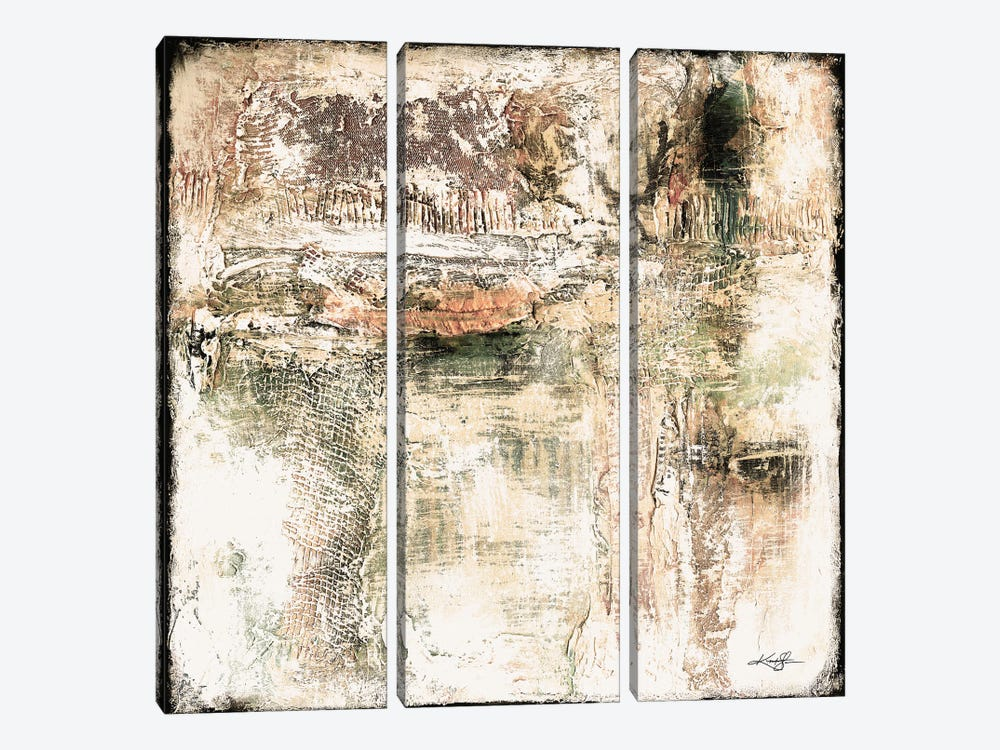 When Love Remains I-III by Kathy Morton Stanion 3-piece Canvas Art
