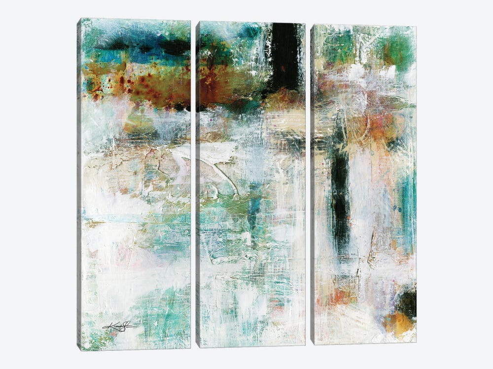 Moving Forward I by Kathy Morton Stanion 3-piece Canvas Wall Art