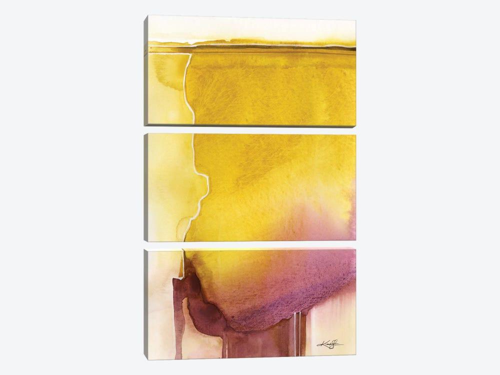Sacred Balance VII by Kathy Morton Stanion 3-piece Canvas Art Print