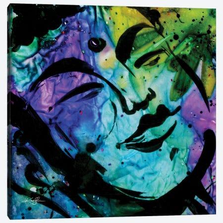 Buddha Love 16 Canvas Print #KMS325} by Kathy Morton Stanion Canvas Art
