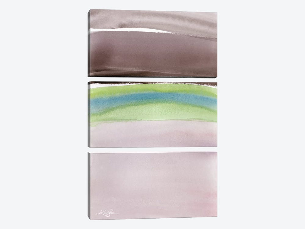Serene Moments I by Kathy Morton Stanion 3-piece Art Print