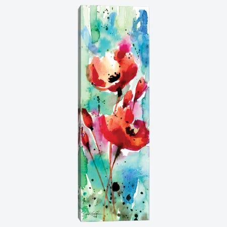 Poppy Love 10 Canvas Print #KMS331} by Kathy Morton Stanion Canvas Wall Art