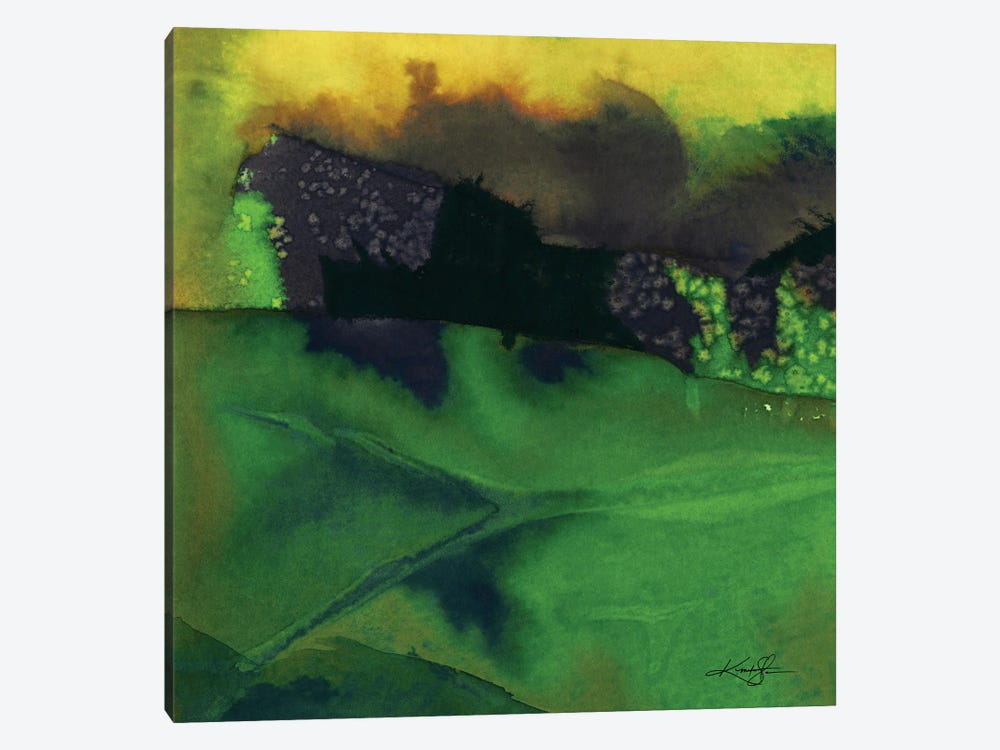 Abstraction CIV-III by Kathy Morton Stanion 1-piece Canvas Wall Art