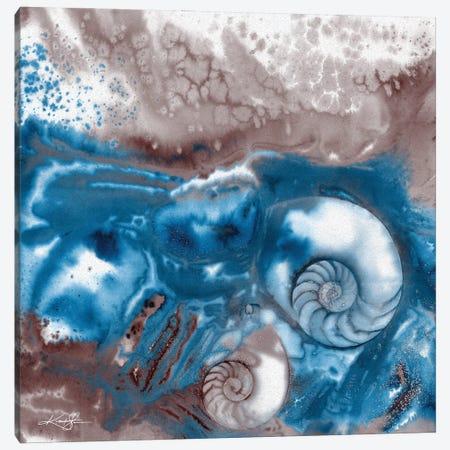 Sea Jewels IV-II Canvas Print #KMS374} by Kathy Morton Stanion Canvas Print