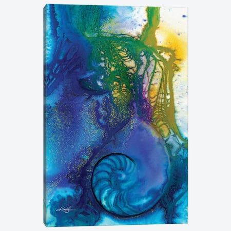 Sea Jewels VI Canvas Print #KMS379} by Kathy Morton Stanion Canvas Artwork