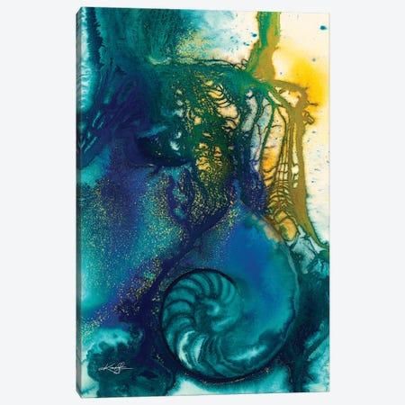 Sea Jewels VI-II Canvas Print #KMS380} by Kathy Morton Stanion Art Print