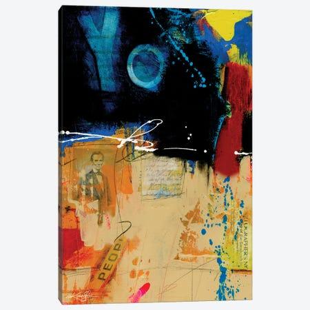 Yo People I Canvas Print #KMS381} by Kathy Morton Stanion Canvas Art Print