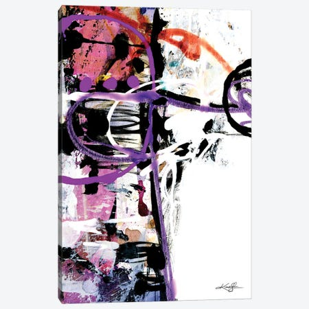 The Music In Abstract XXII Canvas Print #KMS385} by Kathy Morton Stanion Canvas Artwork