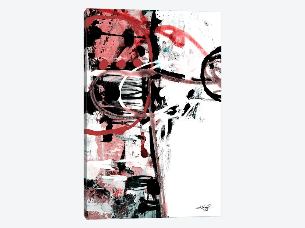 The Music In Abstract XXII-III by Kathy Morton Stanion 1-piece Canvas Wall Art