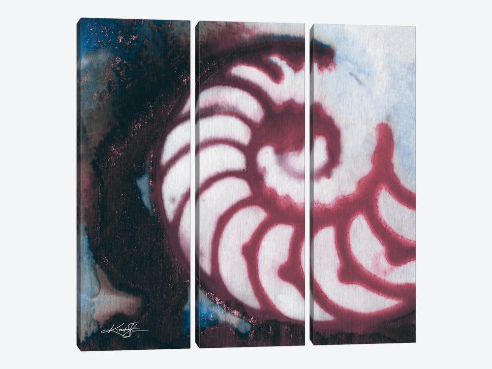 Sea Jewels I-III by Kathy Morton Stanion 3-piece Canvas Art