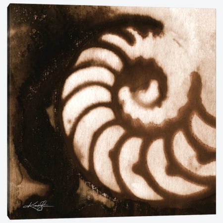 Sea Jewels I-IV Canvas Print #KMS401} by Kathy Morton Stanion Canvas Wall Art