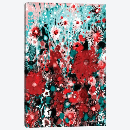 Meadow Of Happiness I-II Canvas Print #KMS403} by Kathy Morton Stanion Canvas Art
