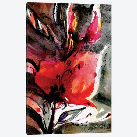 Floral Impressions V Canvas Print #KMS409} by Kathy Morton Stanion Canvas Art