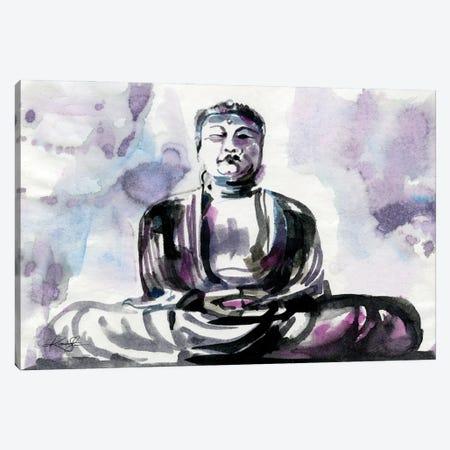 Buddha Canvas Print #KMS42} by Kathy Morton Stanion Canvas Art