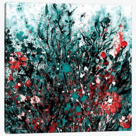 Floral Dream II-II Canvas Print #KMS447} by Kathy Morton Stanion Canvas Art Print
