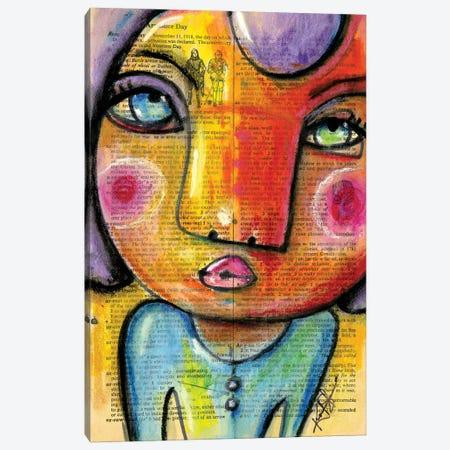 I Feel Pretty No. 1 Canvas Print #KMS46} by Kathy Morton Stanion Canvas Print