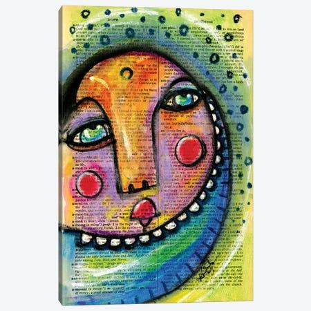 Moon Child Canvas Print #KMS47} by Kathy Morton Stanion Canvas Print