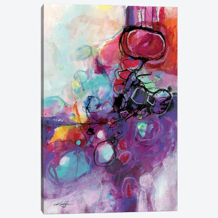 The Poetry In Abstraction V Canvas Print #KMS71} by Kathy Morton Stanion Canvas Art Print