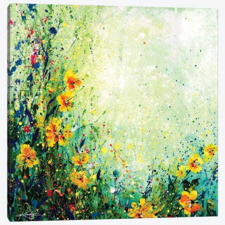 Mystic Meadow II Canvas Print #KMS74} by Kathy Morton Stanion Canvas Art