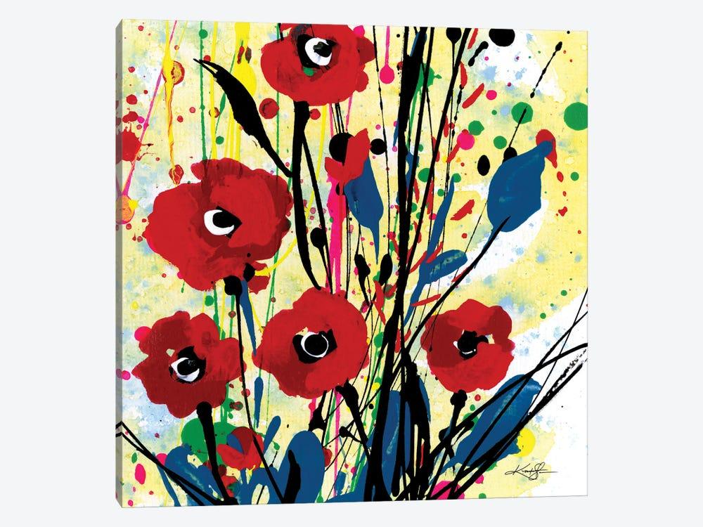 Poppy Dreams III by Kathy Morton Stanion 1-piece Canvas Art Print