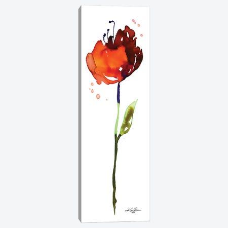 Flower Zen IV Canvas Print #KMS82} by Kathy Morton Stanion Canvas Wall Art