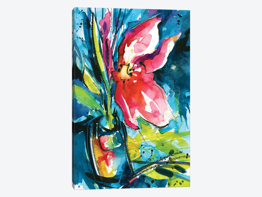 Floral Delight I by Kathy Morton Stanion 1-piece Canvas Wall Art