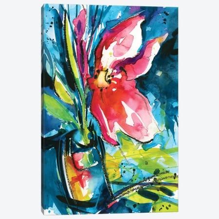 Floral Delight I Canvas Print #KMS8} by Kathy Morton Stanion Art Print