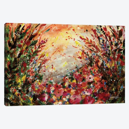 Skadi's Field Canvas Print #KMS92} by Kathy Morton Stanion Art Print