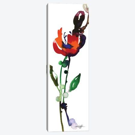 Flower Zen VIII Canvas Print #KMS99} by Kathy Morton Stanion Canvas Print